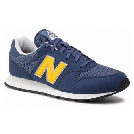Sneakersy NEW BALANCE - GM500VC1 Granatowy