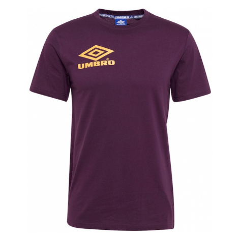 UMBRO Koszulka 'COLLIDER CREW TEE' żółty / fioletowy