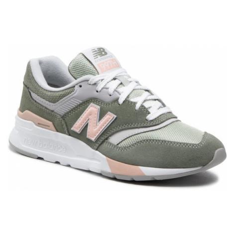 New Balance Sneakersy CW997HVC Zielony