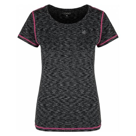 Damski czarny T-shirt LOAP Madam