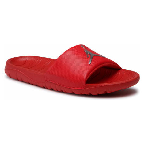 Klapki NIKE - Jordan Break Slide AR6374 602 University Red/Metallic Silver