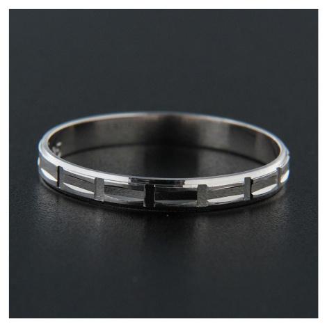 Pierścionek srebrny 13839