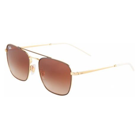 Ray-Ban Okulary przeciwsłoneczne złoty / brązowy