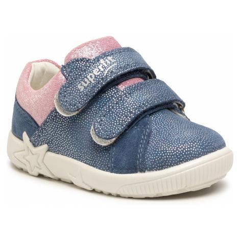 Sneakersy SUPERFIT - 1-006437-8010 M Blau/Rosa