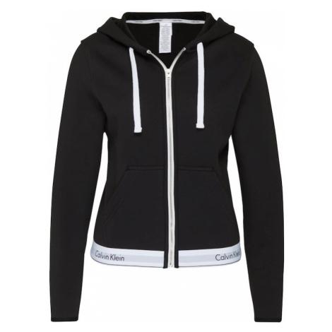 Calvin Klein Underwear Bluza rozpinana czarny