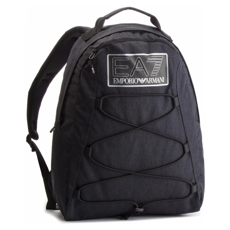 Plecak EA7 EMPORIO ARMANI - 275822 8A803 27020 Black Melange