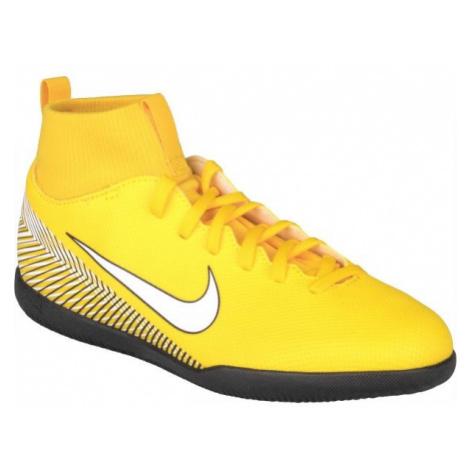 Nike SUPERFLY 6 CLUB NJR IC żółty 1.5Y - Obuwie piłkarskie halowe dziecięce
