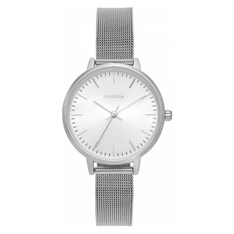 Pilgrim Zegarek analogowy 'Lola' srebrny