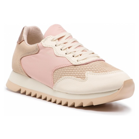Sneakersy GANT - Lindsey 18533404 Macadamia/Ly. Pink G577