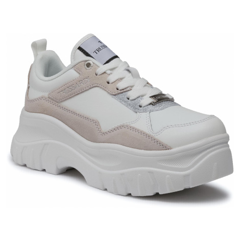Sneakersy TRUSSARDI JEANS - 79A00543 W001