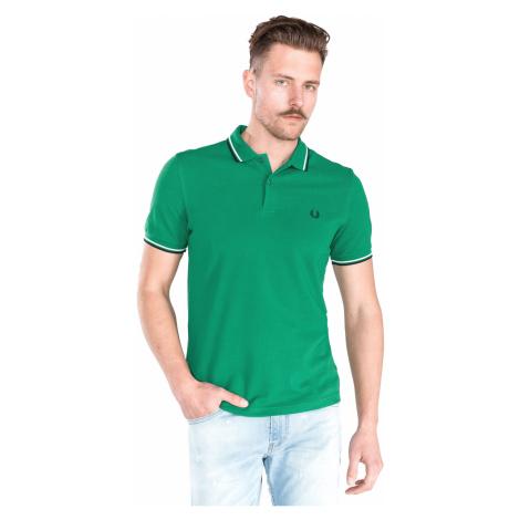 Fred Perry Polo Koszulka Zielony