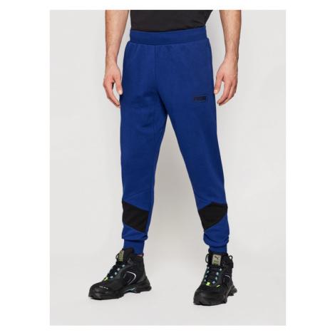 Puma Spodnie dresowe Rebel 585753 Granatowy Regular Fit