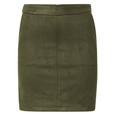 VILA Spódnica 'FADDY' oliwkowy
