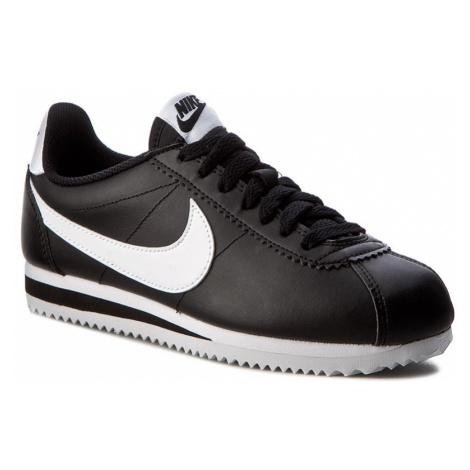 Buty NIKE - Classic Cortez Leather 807471 010 Black/White/White