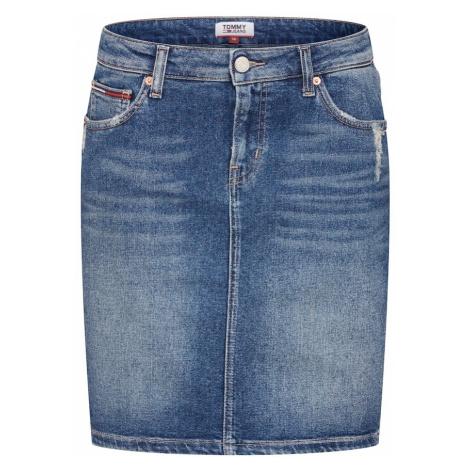 Tommy Jeans Spódnica niebieski denim Tommy Hilfiger