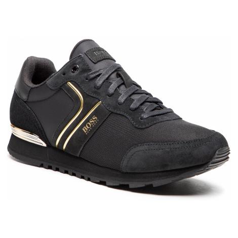 Sneakersy BOSS - Parkour Runn 50433661 10214574 01 Black 005 Hugo Boss