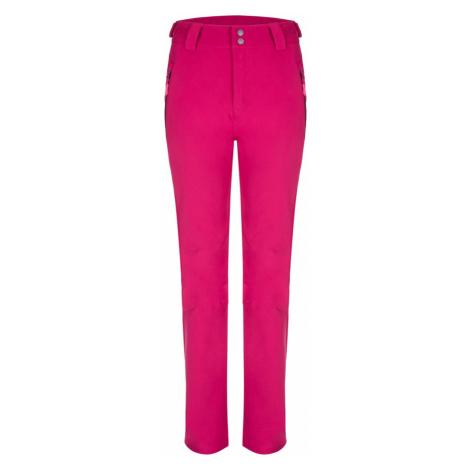 LYCCI damskie spodnie softshell różowe LOAP