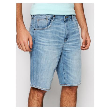 Armani Exchange Szorty jeansowe 3KZJ80 Z1FCZ 1500 Niebieski Slim Fit