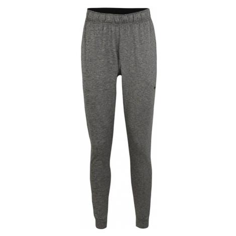 NIKE Spodnie sportowe 'Dry Hyper Dry' nakrapiany szary