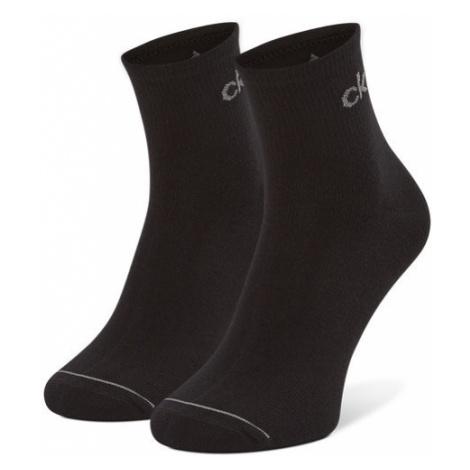 Calvin Klein Zestaw 3 par wysokich skarpet męskich 100001889 r.OS Czarny