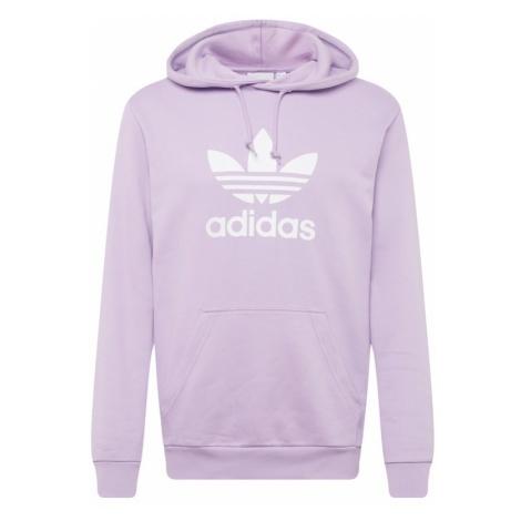 ADIDAS ORIGINALS Bluzka sportowa 'Trefoil' liliowy / biały