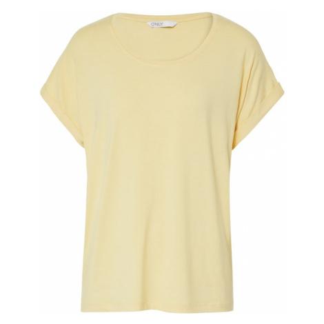 ONLY Koszulka jasnożółty