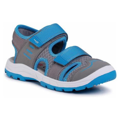 Sandały SUPERFIT - 0-606026-2500 S Hellgrau/Blau