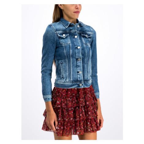 Pepe Jeans Kurtka jeansowa Thrift PL400755CP5 Granatowy Regular Fit