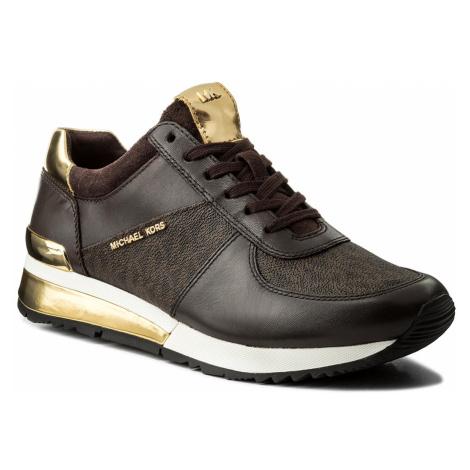Sneakersy MICHAEL MICHAEL KORS - Allie Wrap Trainer 43R6ALFP2B Brown