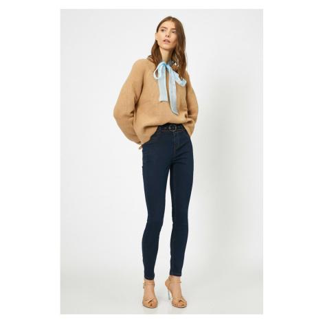 Koton Women Blue Trousers