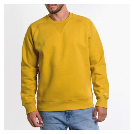 Bluza męska Carhartt WIP Chase I026383 COLZA/GOLD