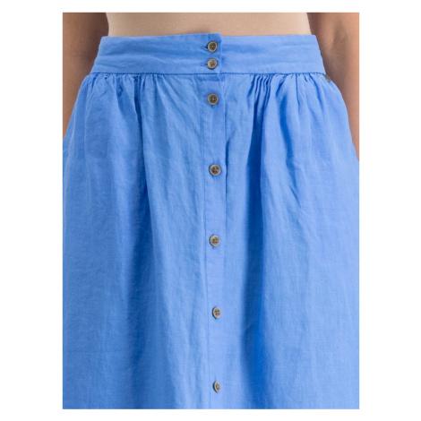Pepe Jeans Spódnica trapezowa PL900791 Niebieski Regular Fit