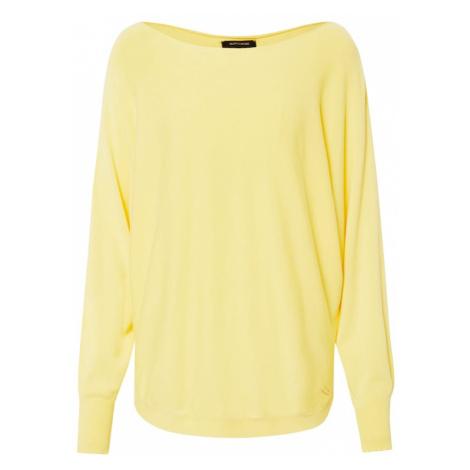 MORE & MORE Sweter żółty