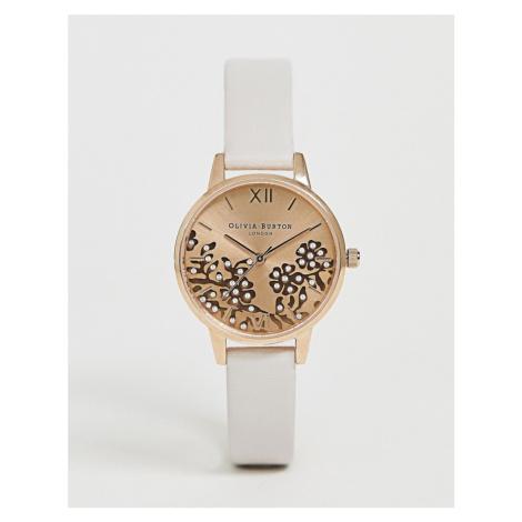 Olivia Burton OB16MV102 faux leather watch