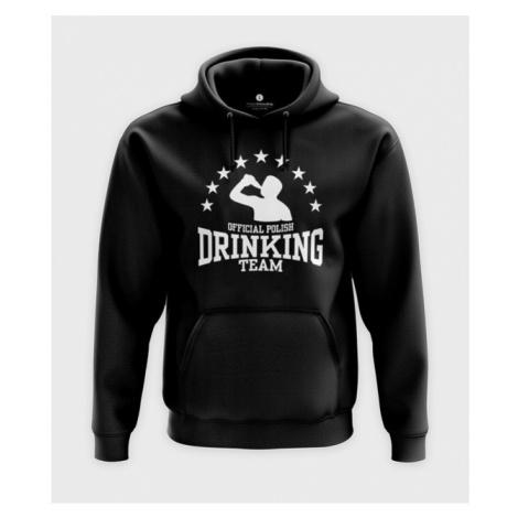 Bluza z kapturem Official polish drinking team