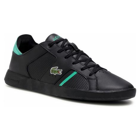 Sneakersy LACOSTE - Novas 0120 1 Sma 7-40SMA00121B4 Blk/Grn
