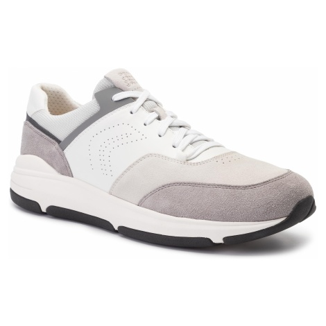 Sneakersy GEOX - U Niley A U926LA 04322 C1398 White/Stone