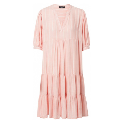 SISTERS POINT Sukienka 'IBON' biały / różowy pudrowy