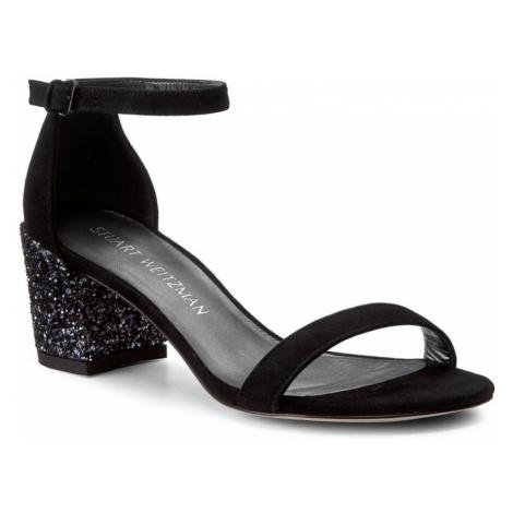 Sandały STUART WEITZMAN - Simple XL92923 Black Suede
