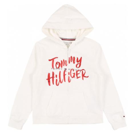TOMMY HILFIGER Bluza rozpinana 'GRAPHIC' biały