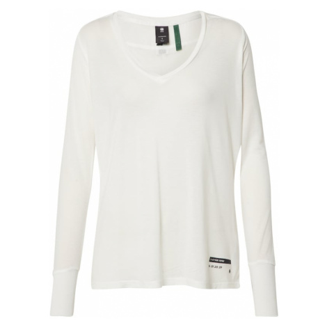 G-Star RAW Koszulka 'Gyre utility' czarny / biały