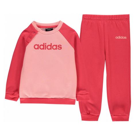 Adidas Tracksuit Set Baby Girls