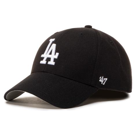 Czapka z daszkiem 47 BRAND - Mlb Los Angeles Dodgers '47 Mvp B-MVP12WBV-BKJ Black