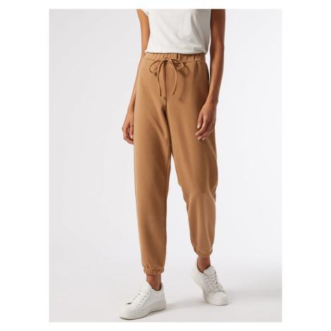 Brązowe spodnie dresowe Dorothy Perkins