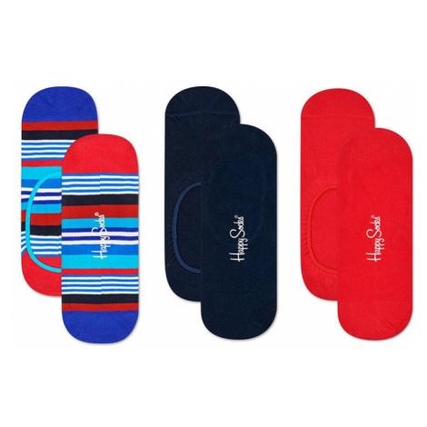 Happy Socks - Skarpety Multi Stripe (3-pak)