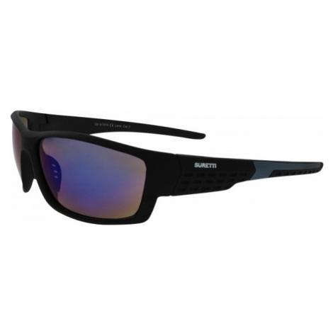 Suretti S1974 czarny  - Okulary przeciwsłoneczne sportowe