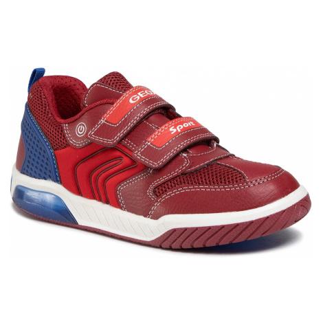 Sneakersy GEOX - J Inek B.D J949CD 0FE14 C7213 D Red/Royal