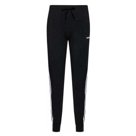 Adidas Spodnie dresowe Essentials 3-Stripes DP2377 Czarny Slim Fit