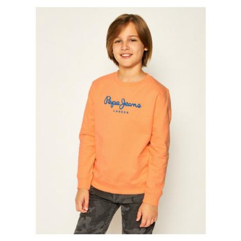 Pepe Jeans Bluza Cameron PB581223 Pomarańczowy Regular Fit