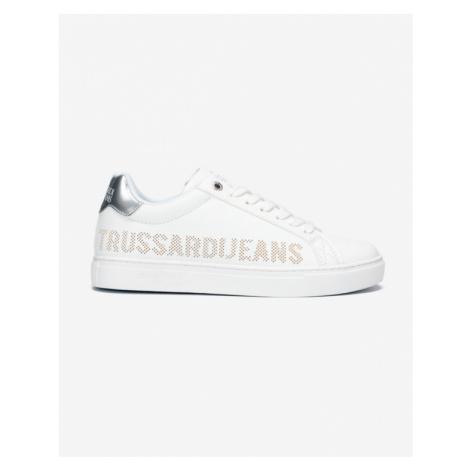 Trussardi Jeans Tenisówki Biały